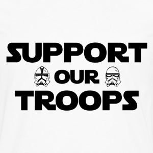Support our troops - Men's Premium Long Sleeve T-Shirt