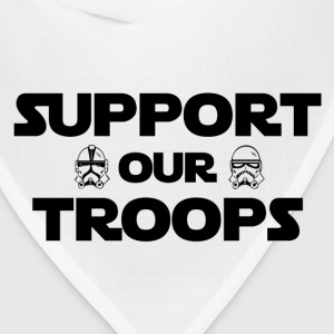 Support our troops - Bandana