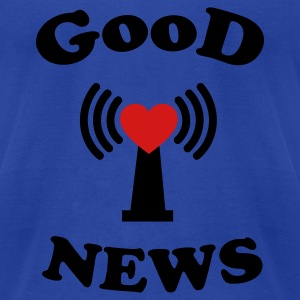 Good News Eastern Tanks - Men's T-Shirt by American Apparel