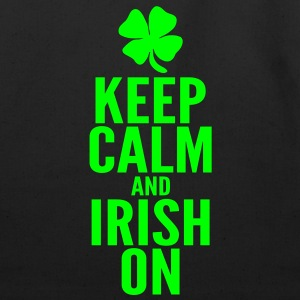 Keep Calm and Irish On Women's T-Shirts - Eco-Friendly Cotton Tote