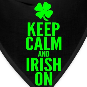 Keep Calm and Irish On Long Sleeve Shirts - Bandana
