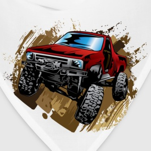 Red Rock Crawling Off-Road Truck Shirt - Bandana