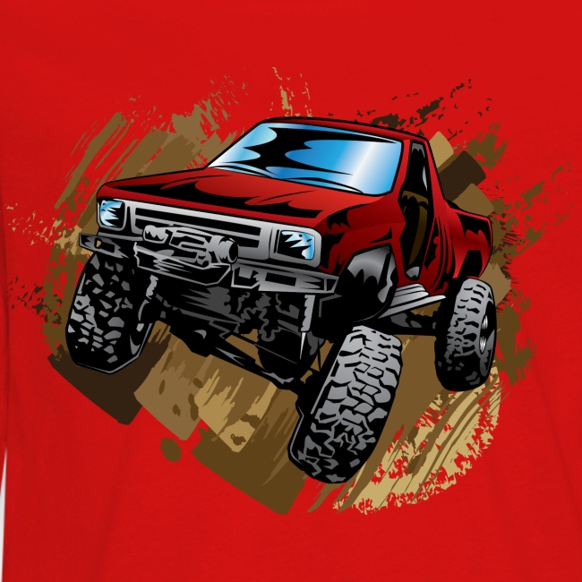 Red Rock Crawling Off-Road Truck Shirt