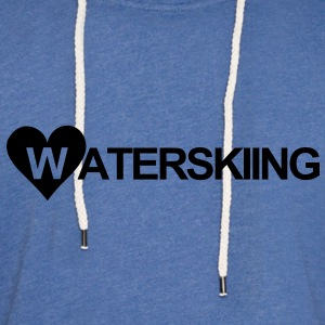 WATERSKI,WATER, WAKEBOARD, MONOSKI, SKI, RIDE T-Shirts - Unisex Lightweight Terry Hoodie