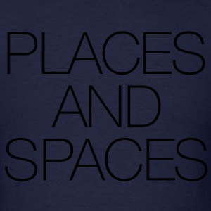 Places And Spaces Long Sleeve Shirts - Men's T-Shirt