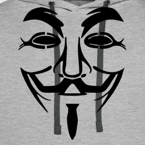 Guy Fawkes Mask - Men's Premium Hoodie