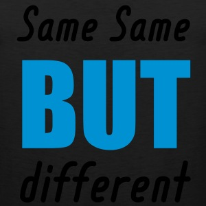 same same but different T-Shirts - Men's Premium Tank