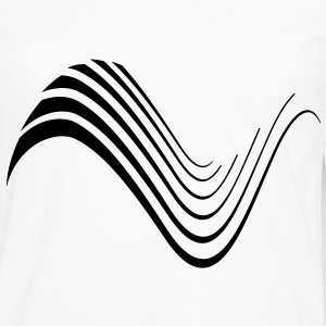 wave abstract T-Shirts - Men's Premium Long Sleeve T-Shirt
