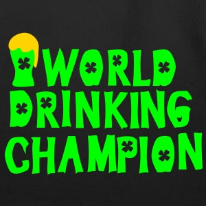 world drinking championcheers green beer Men's Sta - Eco-Friendly Cotton Tote