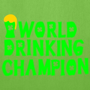world drinking championcheers green beer Men's Sta - Tote Bag