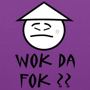 wok da fok ?? Women's T-Shirts - Tote Bag