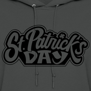 St Patrick's Day Women's Fitted Lime Shimmer T - Women's Hoodie