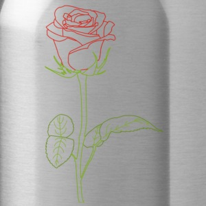 Rose T-Shirts - Water Bottle