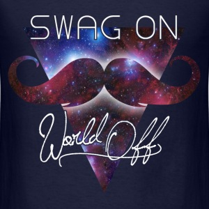 world off swag on Long Sleeve Shirts - Men's T-Shirt