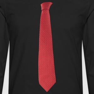 Red Tie Women's T-Shirts - Men's Premium Long Sleeve T-Shirt