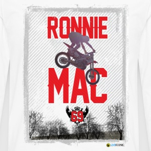 Ronnie Mac Graphic T - Men's Premium Long Sleeve T-Shirt