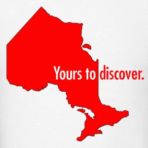 Ontario: Yours to discover Hoodies - Men's T-Shirt