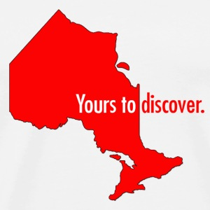 Ontario: yours to discover Travel Mug - Men's Premium T-Shirt