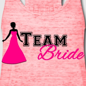Team Bride Women's T-Shirts - Women's Flowy Tank Top by Bella