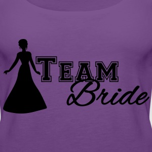Team Bride Women's T-Shirts - Women's Premium Tank Top