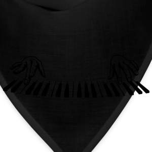 piano finger Sweatshirts - Bandana