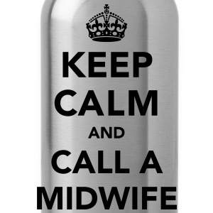 Keep Calm and Call A Midwife T-Shirts - Water Bottle