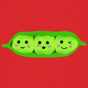three peas in a pod Hoodies - Men's T-Shirt