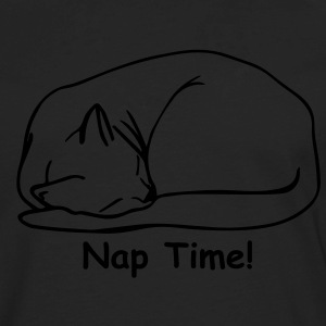 Nap Time 2 Ladies T-shirt Black - Men's Premium Long Sleeve T-Shirt