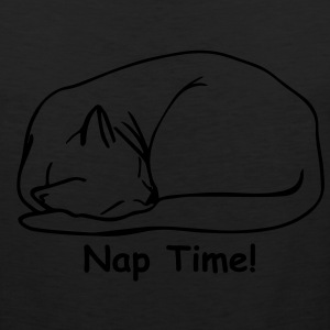 Nap Time 2 Ladies T-shirt Black - Men's Premium Tank