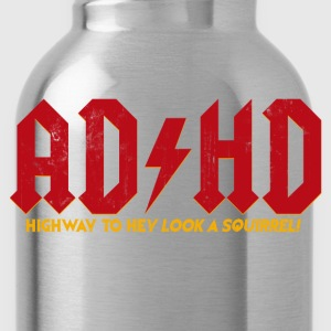 AD/HD T-Shirts - Water Bottle