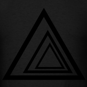 Triangles Hoodies - Men's T-Shirt