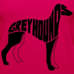 Greyhound Dog Art Hoodies - Women's Premium Tank Top