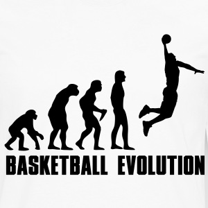 Basketball Evolution Dunk Kids' Shirts - Men's Premium Long Sleeve T-Shirt