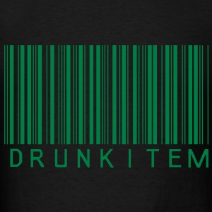 Glow in the dark  Drunk Item (Glow in the dark des - Men's T-Shirt