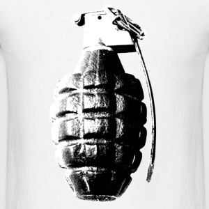MK2 Fragmentation Grenade - Men's T-Shirt