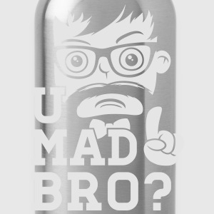 Like a swag cool u mad story bro moustache style T-Shirts - Water Bottle