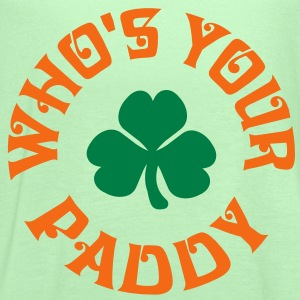 Whos Your Paddy v2 T-Shirts - Women's Flowy Tank Top by Bella