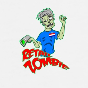 Retail Zombie mug - Men's Premium T-Shirt
