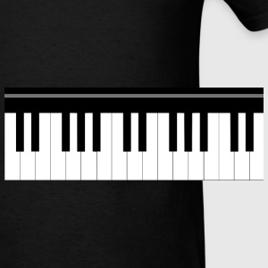 Piano keyboard Hoodies - Men's T-Shirt
