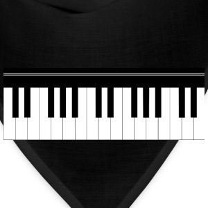 Piano keyboard Kids' Shirts - Bandana