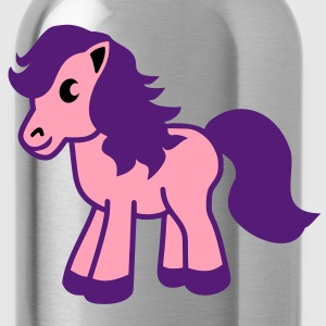 cute pony  Sweatshirts - Water Bottle