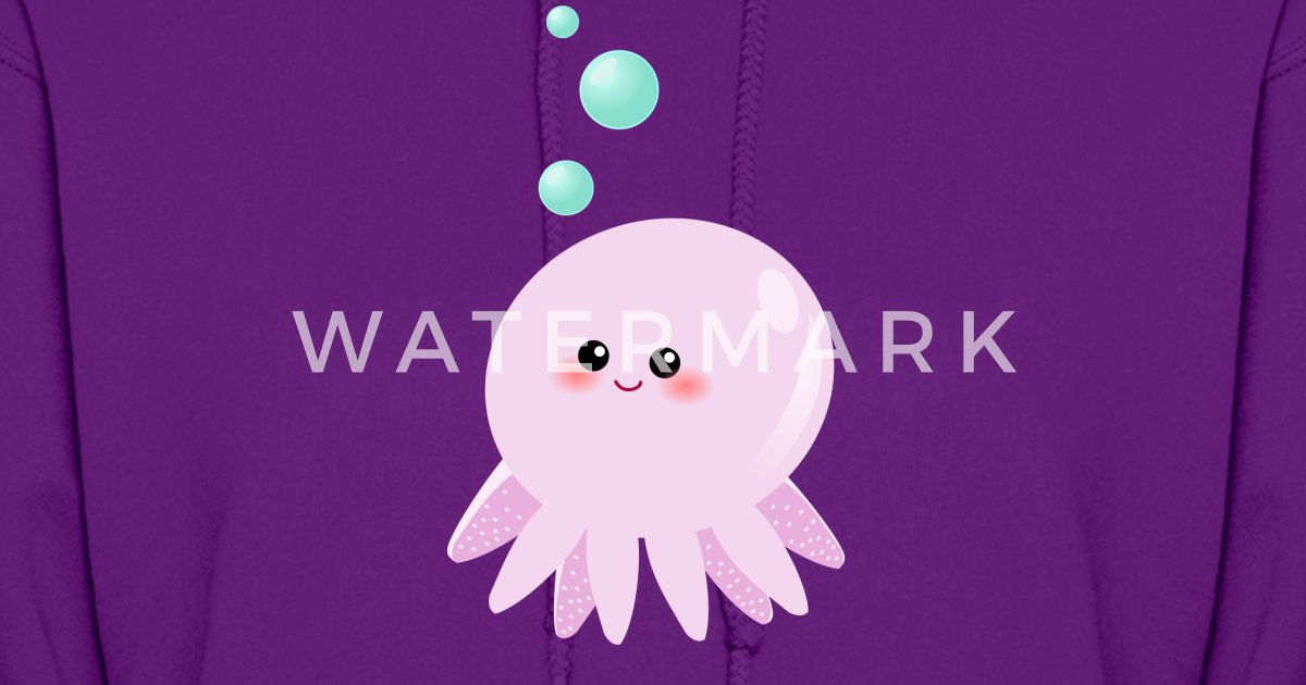 cute pink octopus cartoon - photo #25