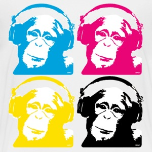 4 dj monkeys Kids' Shirts - Toddler Premium T-Shirt