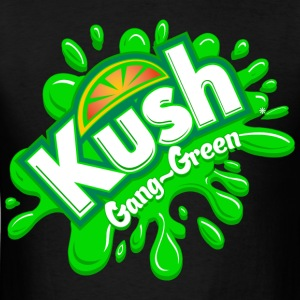 Kush Kidz Gang-Green Hoodie - Men's T-Shirt