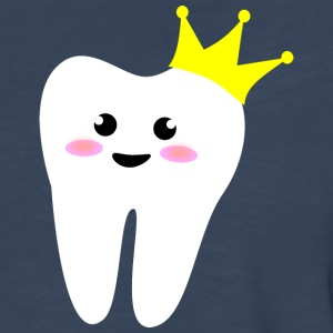 crown tooth molar Kids' Shirts - Men's Premium Long Sleeve T-Shirt