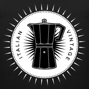 Vintage icons 03 - Moka pot T-Shirts - Men's Premium Tank