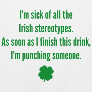 Irish stereotypes - Men's Premium Tank