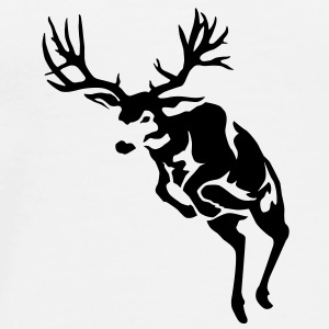 Reggie the Mule Deer - Men's Premium T-Shirt
