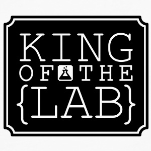 King of the Lab (1c) T-Shirts - Men's Premium Long Sleeve T-Shirt