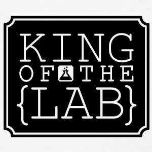 King of the Lab (1c) Accessories - Men's T-Shirt